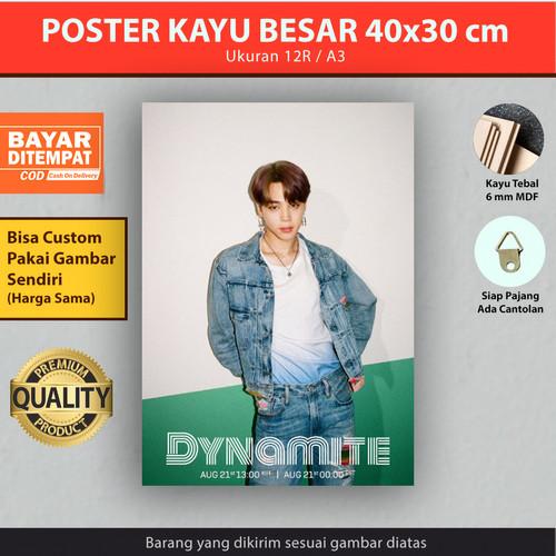 Jual Poster Kayu Bts Dynamite 40x30 Cm Rm Jin Suga Jimin V Jungkook Bts 6 Kota Surabaya Simpang Darmo Store Tokopedia