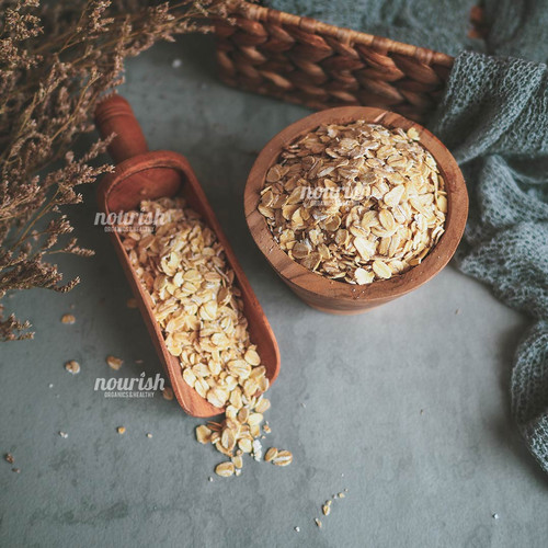 Foto Produk Natural Rolled Oat 1kg dari Nourish Indonesia