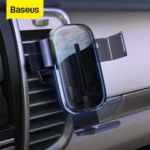 Foto Produk Baseus Wireless Car Charger 15W Fast Charging Charger Mobil dari RA Store3