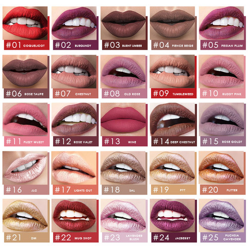 Focallure Long Lasting Matte Lips Color FA24 - FA24-19 2