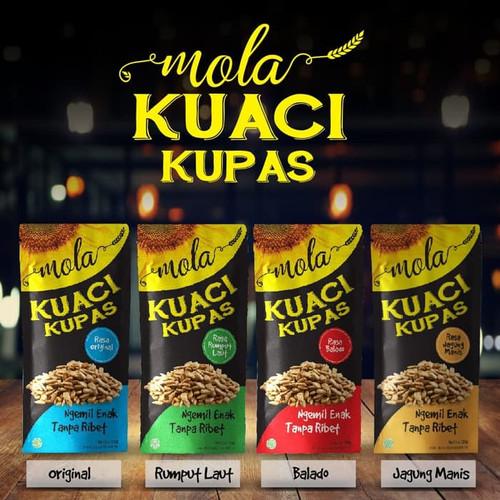 Foto Produk Mola Kuaci 50 gram Kupas Panggang / Kuaci Bunga Matahari dari toy house
