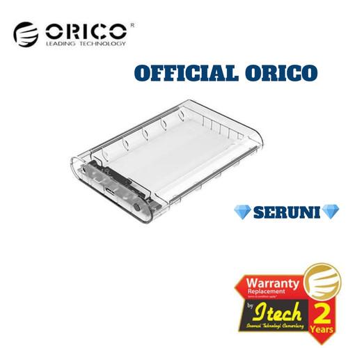 """Foto Produk Orico 3139U3-EU - HDD Enclosure 3.5"""" Transparan - USB 3.0 dari serunicomp"""