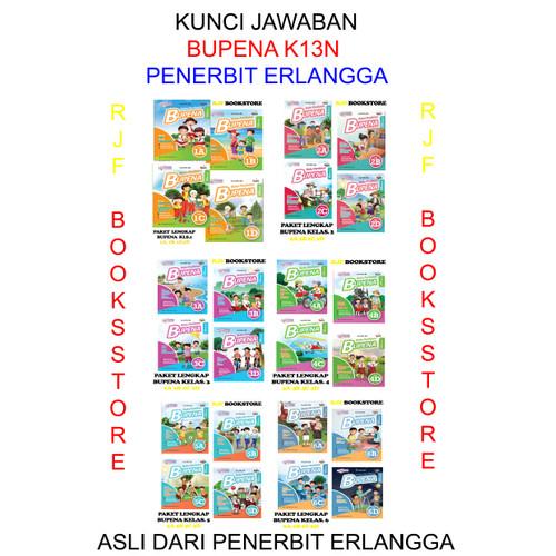 Jual Kunci Jawaban Bupena Sd K13n Kls 1 Sampai Kls 6 Tema A Sampai D Jakarta Timur Rjf Bookstore Tokopedia
