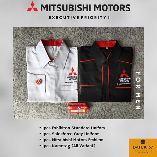 Foto Produk Paket Executive Priority I (For Men) Seragam Mitsubishi - Reguler Size dari Datuk Collection