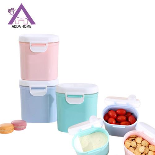 Foto Produk Kotak Tempat Penyimpanan Susu Bubuk Makanan Super Praktis 800ml - Biru dari vintagestory