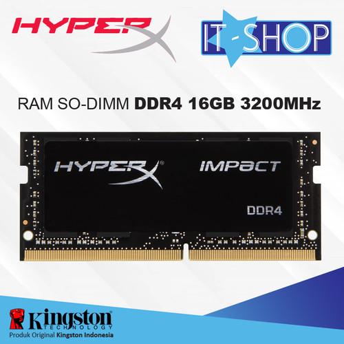 Foto Produk Kingston HyperX Impact DDR4 SODIMM 16GB - 3200 dari IT-SHOP-ONLINE