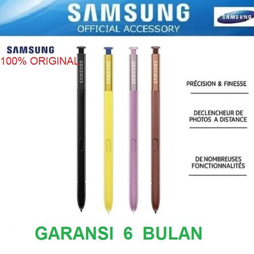 Foto Produk Stylus S Pen Pensil SAMSUNG Galaxy Note 9 / Note9 Original 100% Pack - Kuning dari Pasti Original Asli