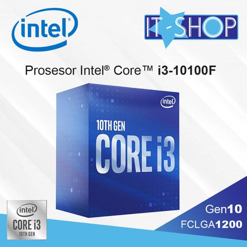 Foto Produk Processor Intel Core i3 10100F LGA 1200 Box dari IT-SHOP-ONLINE