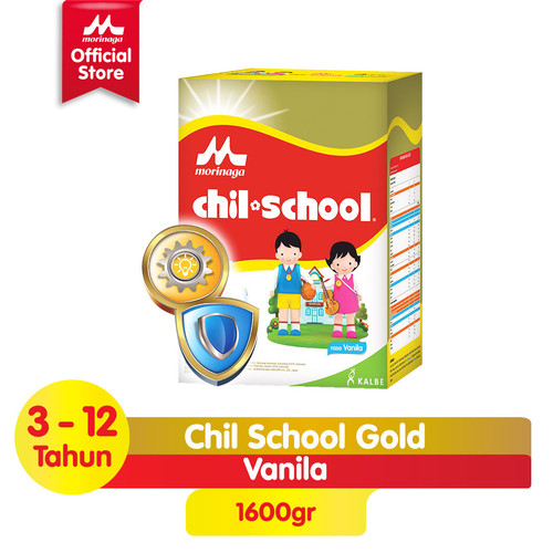 Foto Produk Chil School Gold Vanila 4x400gr dari Morinaga Official Shop