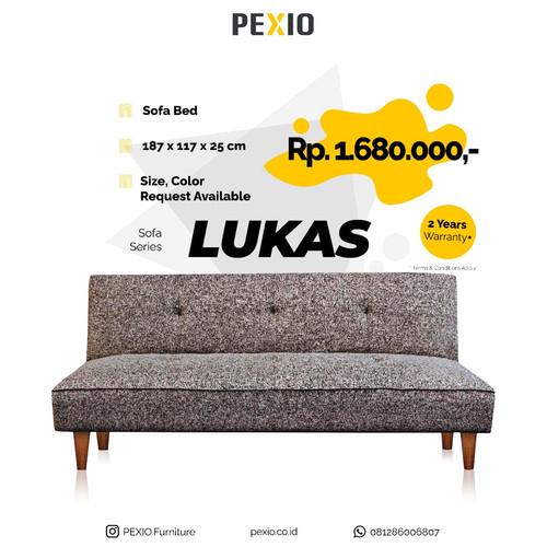 Foto Produk Sofa Bed Lipat LUKAS - Minimalist dan Nyaman|PEX FURNITURE dari PEXIO Furniture