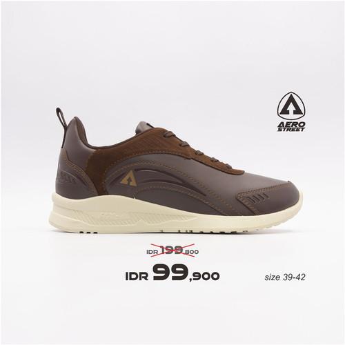 Foto Produk Aerostreet 39-42 Leopard Coklat Tua - Sepatu Sneakers Casual Pria - 40 dari Aerostreet