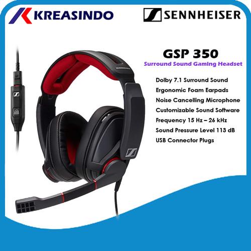 Foto Produk Sennheiser GSP350 / GSP 350 Gaming Headset Garansi Resmi dari Kreasindo Online