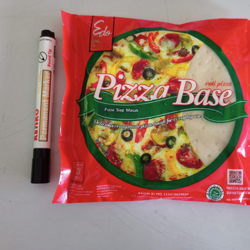 Foto Produk edo pizza base 120gr dari RN FROZEN FOOD