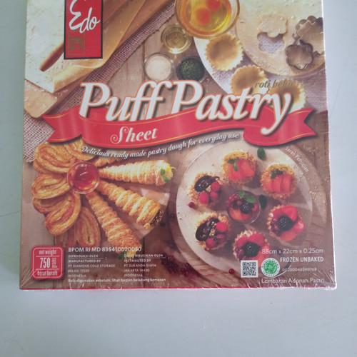 Foto Produk edo puff pastry sheet 750 gr dari RN FROZEN FOOD