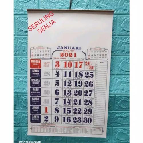 Gambar Kalemder.motif Bunga Thun.2021 - 2686 Kalender As ...