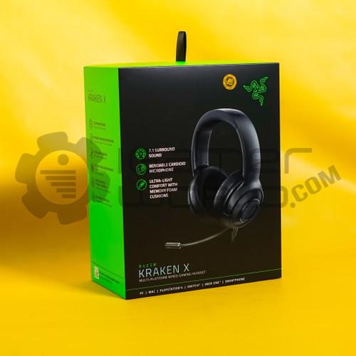 Foto Produk Razer Kraken X Ultralight Multi-Platform Gaming Headset - Hitam dari Igamerworld Store Sby