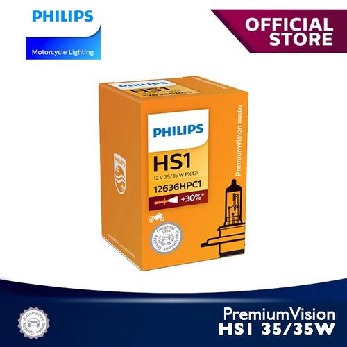 Foto Produk PremiumVision 35/35W HS1 12636C1 Bola Lampu Motor Philips dari Philips Moto