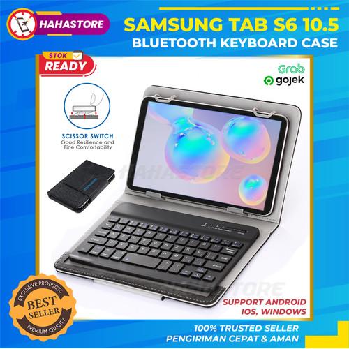Jual Samsung Tab S6 10 5 T860 T865 Wireless Keyboard Flip Case Cover Casing Jakarta Pusat Hahastore Tokopedia