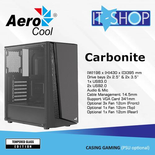 Foto Produk Aerocool Casing CARBONITE dari IT-SHOP-ONLINE