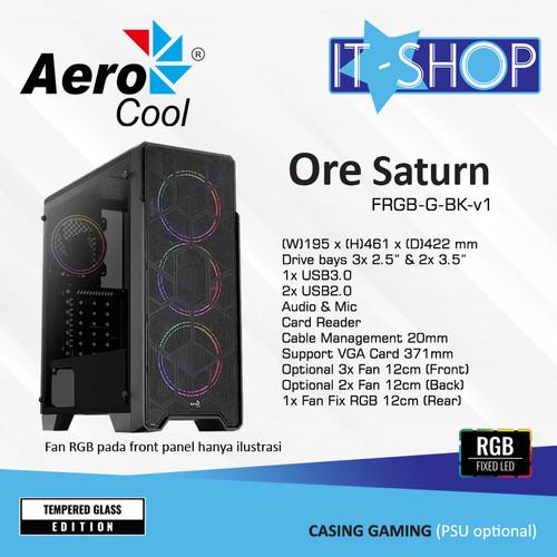 Foto Produk Aerocool Casing ORE SATURN dari IT-SHOP-ONLINE