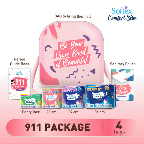Foto Produk 911 First Period Kit dari Softex Indonesia