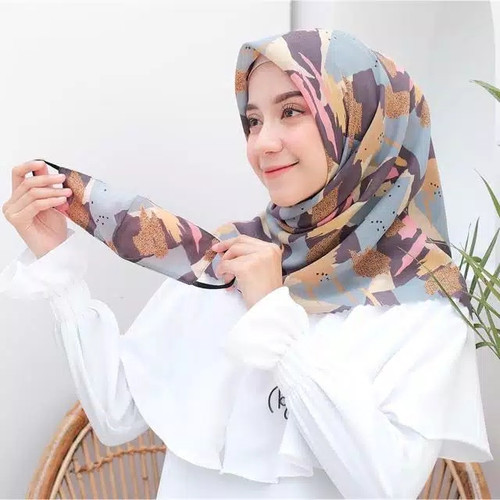 Foto Produk Kerudung Hijab Set Masker - motif 05 dari Trigistore