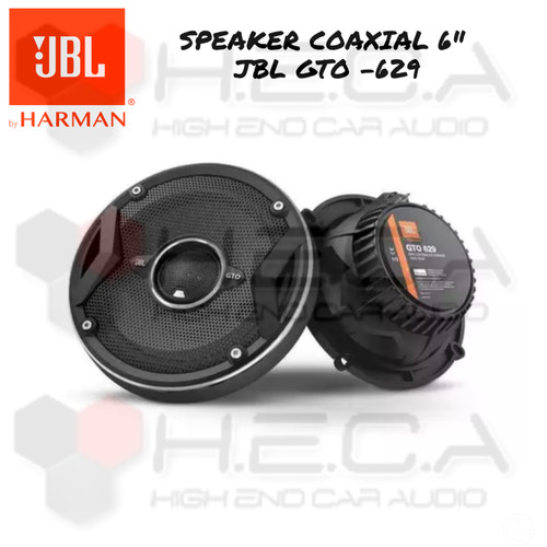 "Foto Produk Speaker Coaxial Mobil JBL GTO-629 GTO629 Best Quality 6"" Pintu Aktif dari High End Car Audio"