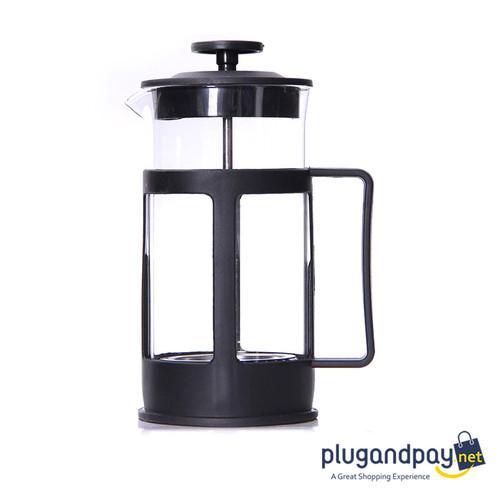 Foto Produk French Press Coffee Maker Alat Kopi Saringan Filter 600ml - 073 dari plugandpay