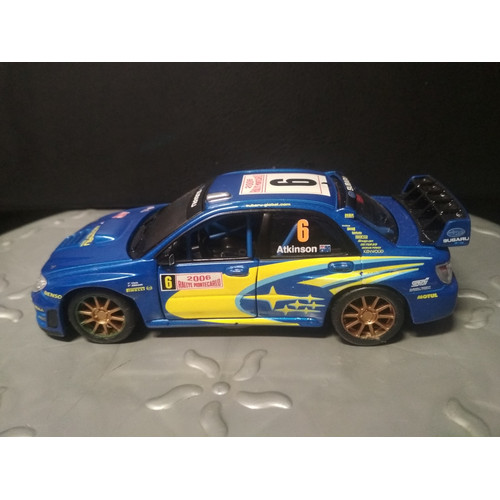 Foto Produk Diecast Burago Subaru Impreza WRC - Atkinson - Loose Tanpa Box dari YDIECKINS