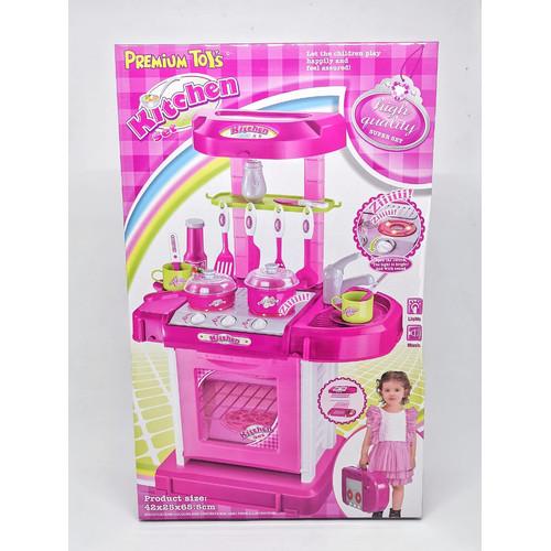 Foto Produk SALE Kitchen Set Koper Mainan Anak Masak / Dapur dari EAZYTOYS
