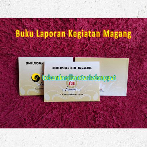 Jual Buku Laporan Kegiatan Magang Kota Padang Tokomknalbnotarisppat Tokopedia