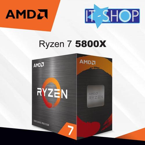 Foto Produk Processor AMD AM4 Ryzen 7 5800X Box dari IT-SHOP-ONLINE