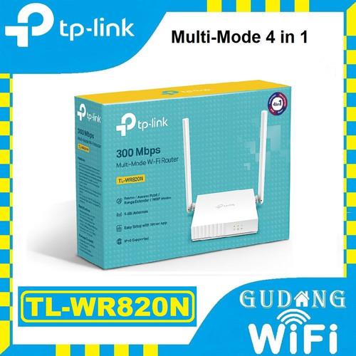 Foto Produk TP-LINK TL-WR820N 300Mbps Wireless N Router dari GudangWifi