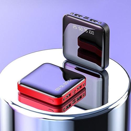 Foto Produk PowerBank 10000mAh Baterai Hp Universal Power bank Digital 2USB Port - 10000 mah, Hitam dari JHAmytoko
