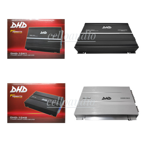 Foto Produk Power Amplifier 4 Channel DHD-1045 2200 Watt Audio Mobil Car - 1041 Hitam dari celloaudio