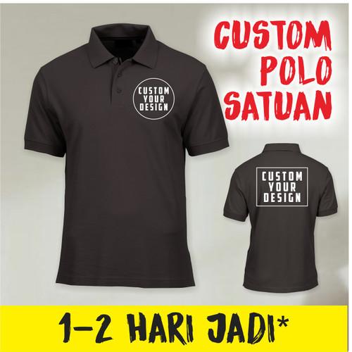 Foto Produk Custom Kaos Polo Shirt Berkerah Suka-suka dari art id