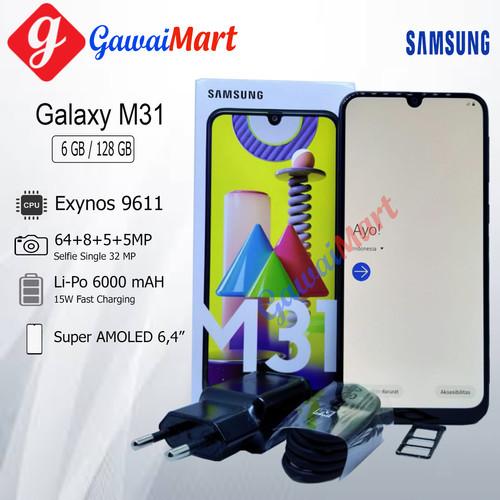 Foto Produk SAMSUNG GALAXY M31 6/128GB GARANSI RESMI - Biru dari Gawai Mart