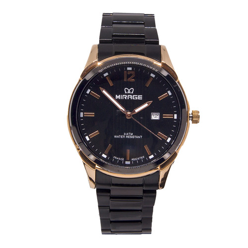 Foto Produk Promo Jam Tangan Mirage Pria Terlaris Hitam Rosegold 7570M dari Mirage Watch