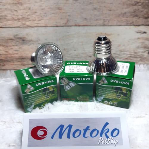 Foto Produk Promo Lampu UVB + UVA Reptil Iguana pemanas penghangat kandang - 50 Watt dari Motojasa