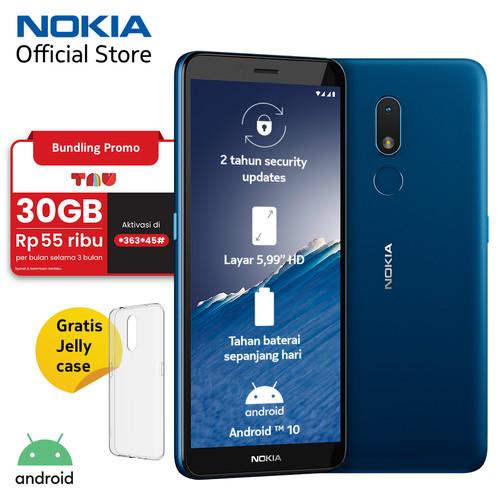 Foto Produk Nokia C3 2/16GB - Nordic Blue dari Nokia Mobile Official
