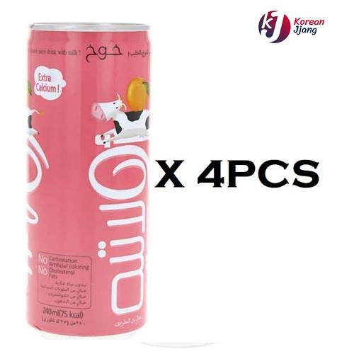 Foto Produk (BUNDLE 4PCS) DONG-A OLATTE DRINK RASA PEACH 240ML - MINUMAN RASA BUAH dari Korean Jjang
