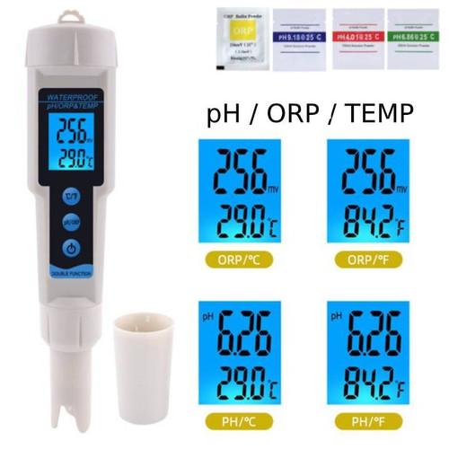 Foto Produk ORP pH Temperature Meter 3in1 ORP-3569 Tester Water ORP3569 dari Cheap n Fun