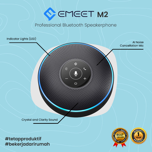 Foto Produk eMeet OfficeCore M2 - Speakerphone USB & Bluetooth dari Inovasi-Media