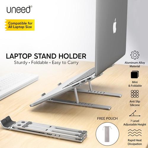 Foto Produk UNEED Dudukan Laptop Stand Holder Laptop Aluminium Alloy - ULS901 dari Uneed Indonesia