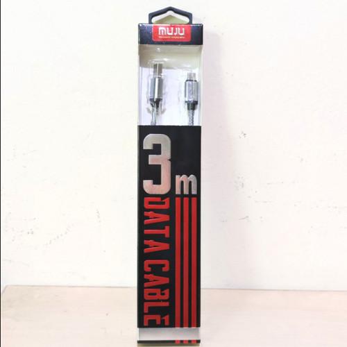 Foto Produk SKU-1124 KABEL USB MICRO 3M FAST CHARGING MUJU MJ-31 DATA ANDROID MJ31 dari VN STORE ONLINE