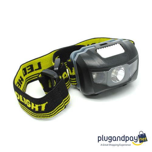 Foto Produk Headlamp LED Multifunction Outdoor 3W - GD63 Senter Kepala Lampu Led dari plugandpay