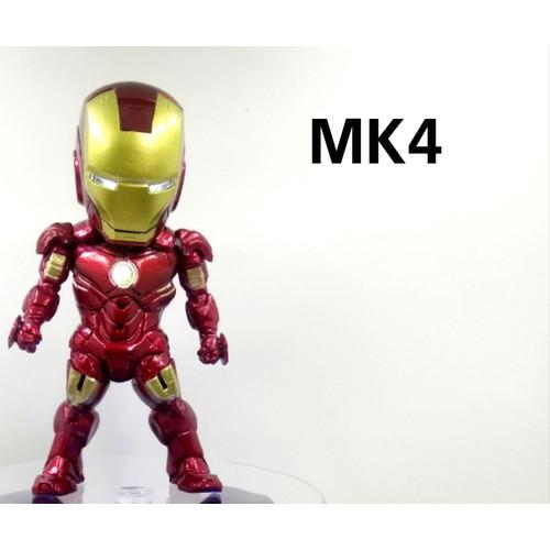 Foto Produk Action figure Iron Man Marvel Avengers bukan kids logic set 6pcs - MK4 dari IndoActionFigure