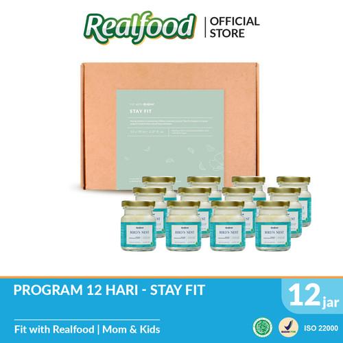 Foto Produk Realfood Stay Fit Semi Concentrated Bird's Nest dengan Gula Batu dari Realfood