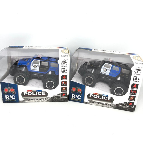 Foto Produk Mainan anak RC crawler polisi / mobil polisi lampu 1 : 43 dari bintangjaya toys