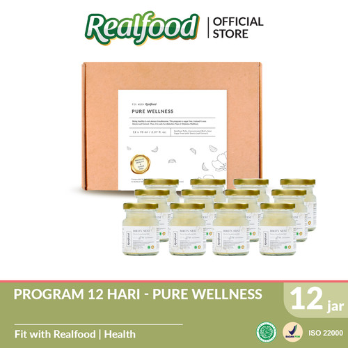 Foto Produk Realfood Pure Wellness Fully Concentrated Bird's Nest Sugar Free dari Realfood